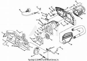 Homelite Ut43104 14 In  42cc Chain Saw Parts Diagram For