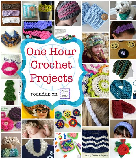 1 hour projects 35 one hour crochet projects diy craft projects