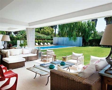 cozy home interior design modern house blending concrete architectural design with