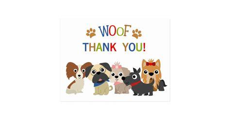 tail wagging dog birthday   postcard zazzlecom
