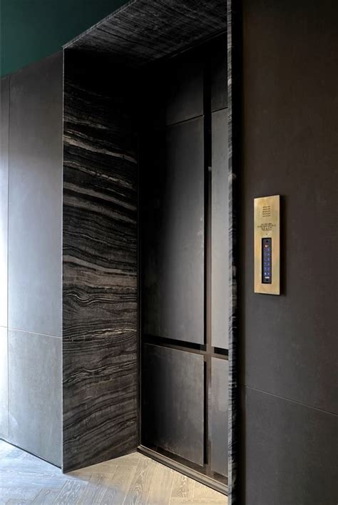 marble lift design marble architrave lobby lift