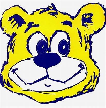 Ucla Bruin Bruins Bear Cartoon Boston Football