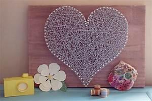 Faire Soi Meme Bricolage : un coeur en ficelle une id e d co faire soi m me j ~ Premium-room.com Idées de Décoration