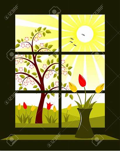 Window Clipart Outside Landscape Clipground