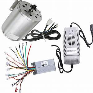 48v 1800w Electric Scooter Speed Controller Box   Motor