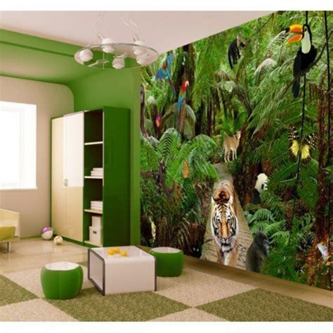 Kinderzimmer Tapete Gestalten by Kindertapete Dschungel F 252 R Attraktives Kinderzimmer