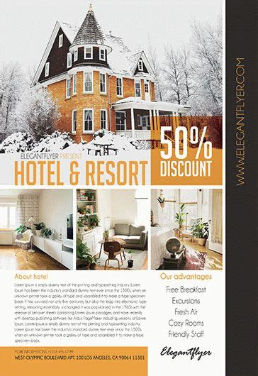 Free Hotel And Motel Tri Fold Psd Brochure By Elegantflyer Hotel Free Psd Tri Fold Psd Brochure Template By
