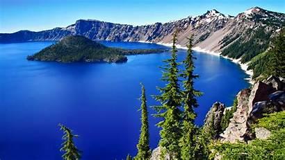 Lake Crater National Oregon Nature Landscape Park