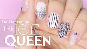 The Huntsman: the Ice Queen inspired Nail Art Tutorial ...