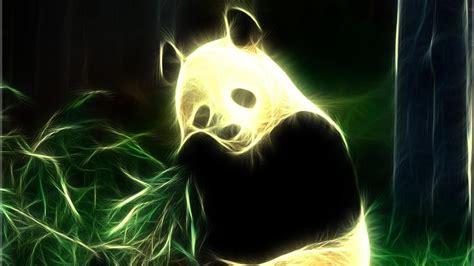 neon panda hd wallpaper wallpaper studio  tens