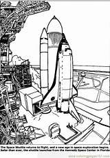 Coloring Space Shuttle Transport Air Navette Spatiale Detailed Launch Template Printable Transportation Coloriage Kleurplaten Coloringpages101 Kleurplaat Spaceshuttle Coloriages Rocket sketch template