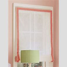 Steal Of The Day Grosgrainribbon Roman Shade  Popsugar Home