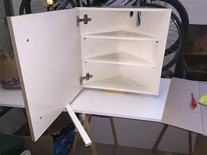 Meuble Sous Vasque Suspendu : meuble sous vasque d 39 angle par tacoule38 sur l 39 air du bois ~ Dailycaller-alerts.com Idées de Décoration