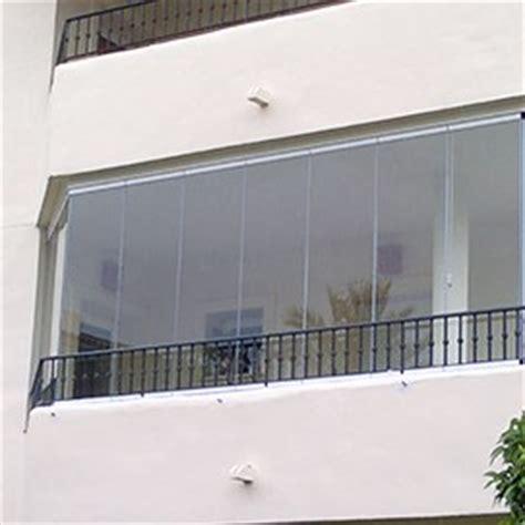 mur de verre rideau de verre coulissant pour balcon
