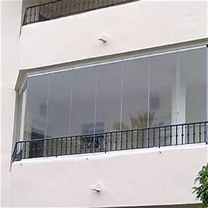 Rideau Pour Balcon : mur de verre rideau de verre coulissant pour balcon ~ Premium-room.com Idées de Décoration