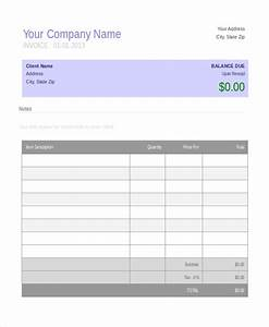 invoice template 10 free word pdf document downloads With small invoice template