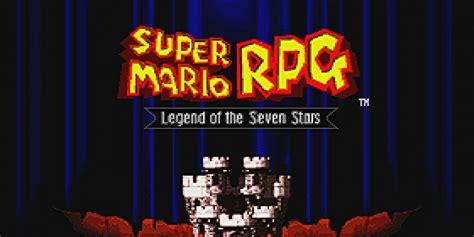 Super Mario Rpg Legend Of The Seven Stars Super