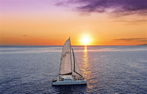 Catamaran Dinner Cruise Maui by Alii Nui Royal Sunset Dinner Sail Luxury Dinner Cruise