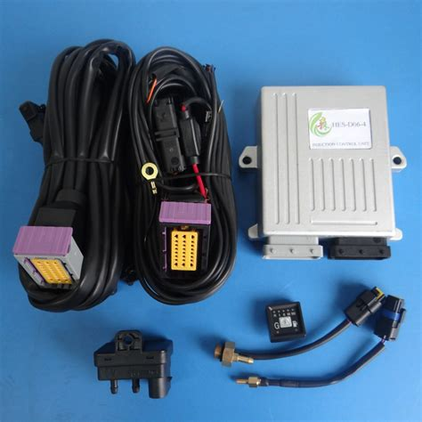 Cng/lpg Conversion Kit With Ecu And Wiring Harness For