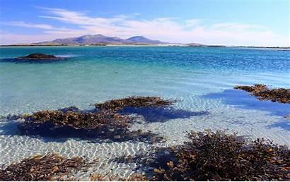 Uist South Scotland Islands Coast Remote Swimming