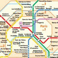 image result  paris metro zones   map  paris