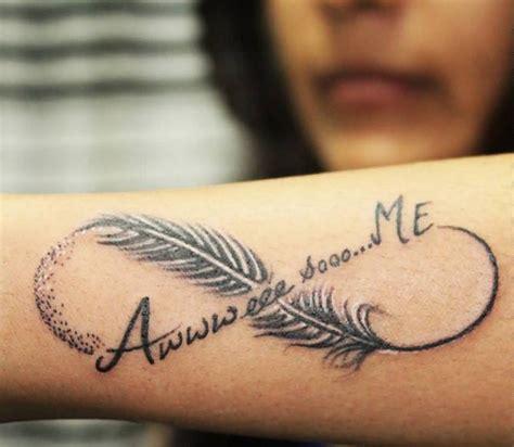 idees tatouage infini  motif pour leternite
