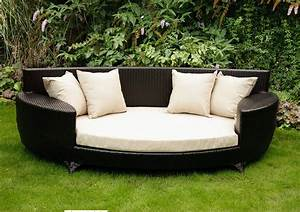 outdoor sofa bed love the use of timber in this outdoor With outdoor futon sofa bed