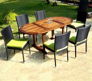 Salon Jardin Teck : salon de jardin teck groupon jardin ~ Melissatoandfro.com Idées de Décoration