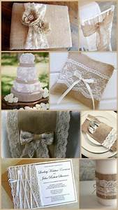 burlap david tutera and lace on pinterest With burlap and lace wedding ideas