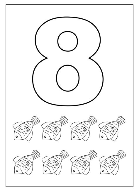number 8 worksheets for children worksheets 414 | aba34f74b75e4dc4fdcbbf7c458253da