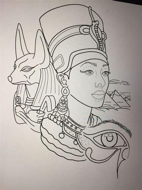 egyptian tattoo design  amanda creek tattoo artist