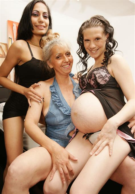 Lesbian Mom Massages Daughter