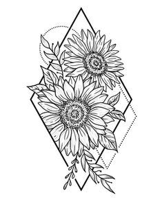 How To Draw A Bunch Of Sunflowers Bouquet By Van Gogh Books Step For Beginners Easy Cute