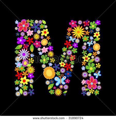 floral font letter h stock photos floral font letter h m colorful flower letter stock images royalty free images 60525