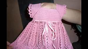 Vestidos tejidos a crochet para bebe faciles, My Crafts and DIY Projects