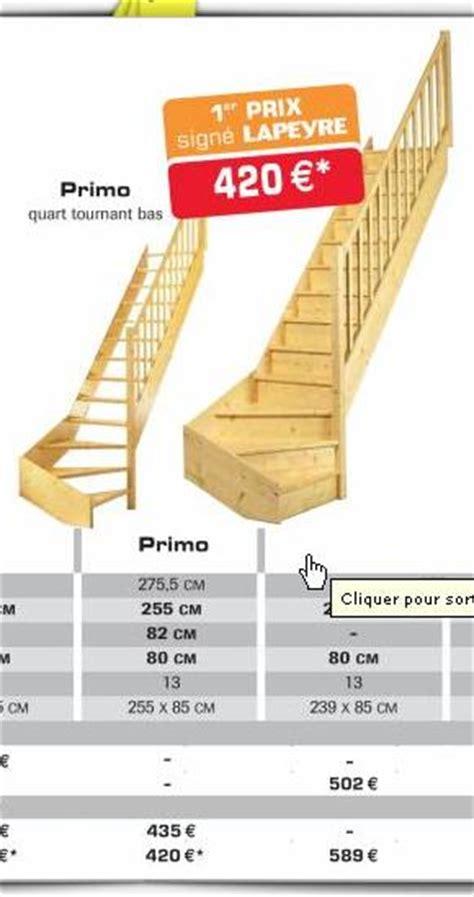 escalier secondaire possibilit 233 224 partir d un escalier
