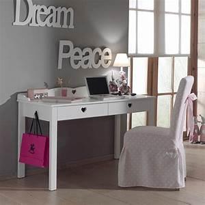 Bureau Fille Ikea : bureau fille blanc contemporain stella zd1 buro e ~ Teatrodelosmanantiales.com Idées de Décoration