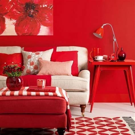 decoraci 243 n de salones de color rojo casas decoracion