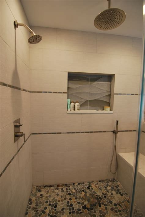 wave tile bathroom design cranbury nj distinctive