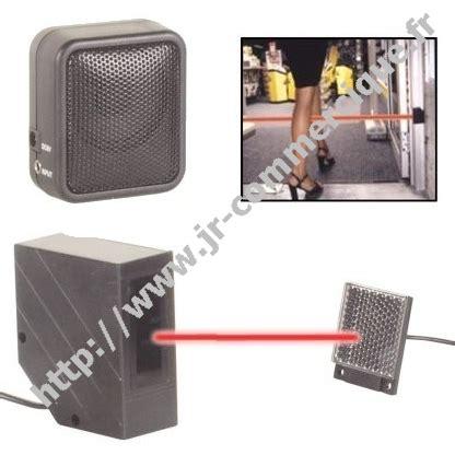 detecteur de passage infrarouge avec sonnerie