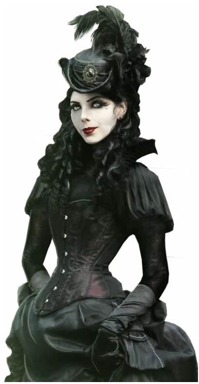 Victorian Vampire Era Gothic Subculture Goth Clipart