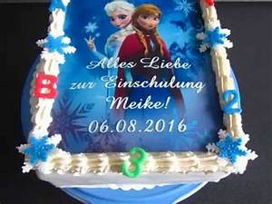 Eiskönigin Anna Und Elsa : anna und elsa die eisk nigin einschulungs torte youtube ~ Yasmunasinghe.com Haus und Dekorationen