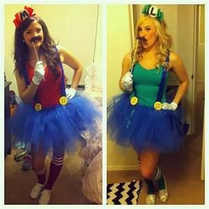 Halloween Kostüm Selber Machen : super mario und luigi kost m selber machen ~ Lizthompson.info Haus und Dekorationen