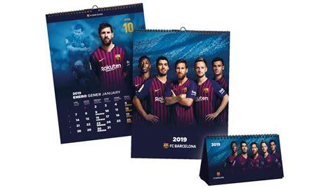 Ya está aquí el calendario oficial del Barça 2019