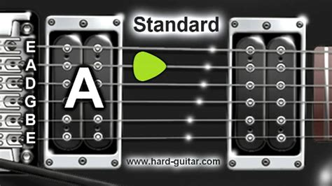 E Standard Tuning (e A D G B E