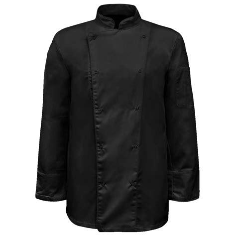 acheter veste de cuisine acheter lot de 2 vestes de cuisine noires à manches