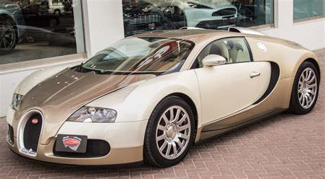 bugatti gold and white unique light gold bugatti veyron for sale gtspirit