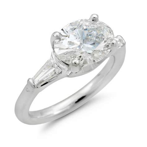 c6612 saddle oval engagement ring dejonghe original jewelry
