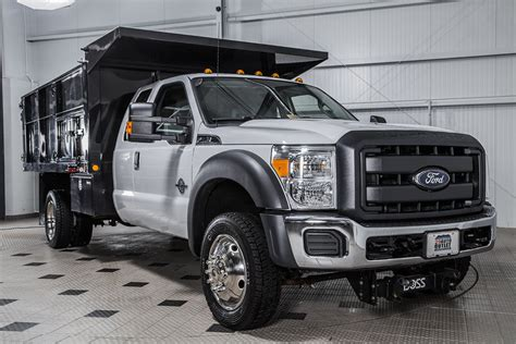 2016 Used Ford Super Duty F-550 Drw F550 12' Landscape
