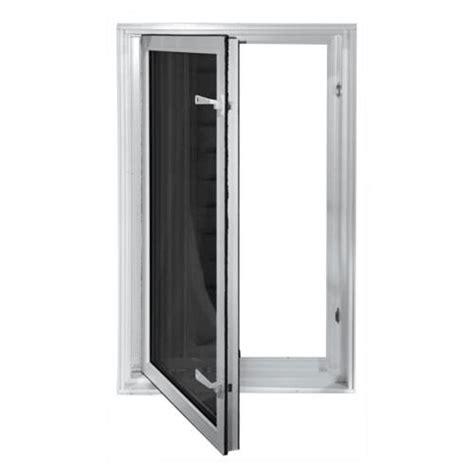 wellcraft egress system insulated  swing window egress compliant